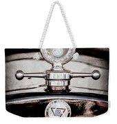 1928 Dodge Brothers Hood Ornament - Moto Meter Weekender Tote Bag