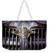 1933 Chrysler Sedan Grille Emblem Weekender Tote Bag