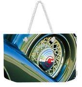 1933 Pontiac Spare Tire -0431c Weekender Tote Bag
