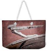 1936 Auburn Speedster Replica Hood Ornament Weekender Tote Bag