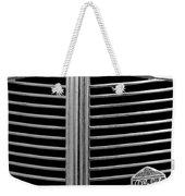 1936 Desoto Airstream Grille Emblem Weekender Tote Bag