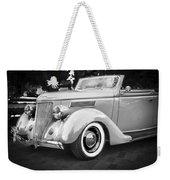 1936 Ford Cabriolet Bw  Weekender Tote Bag