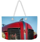 1937 Buick Boattail Roadster Grille Emblems Weekender Tote Bag