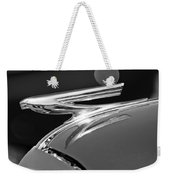 1937 Chevrolet Hood Ornament Weekender Tote Bag
