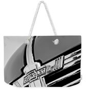1938 Chevrolet Coupe Hood Ornament -0216bw Weekender Tote Bag
