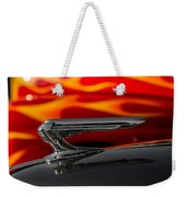 1939 Graham Coupe Hood Ornament Weekender Tote Bag by Ron Pate