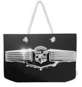1941 Cadillac Emblem Weekender Tote Bag by Jill Reger