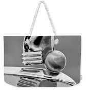 1942 Lincoln Continental Cabriolet Hood Ornament Weekender Tote Bag