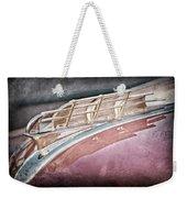 1949 Plymouth Hood Ornament Weekender Tote Bag by Jill Reger