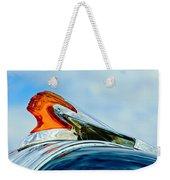 1950 Pontiac Hood Ornament Weekender Tote Bag by Jill Reger