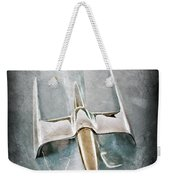 1953 Lincoln Capri Hood Ornament Weekender Tote Bag