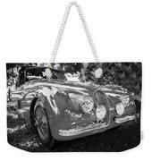 1954 Jaguar Xk 120 Se Ots  Bw Weekender Tote Bag