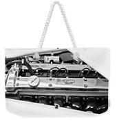 1955 Jaguar Engine Weekender Tote Bag