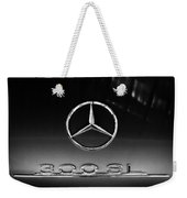 1955 Mercedes-benz Gullwing 300 Sl Emblem Weekender Tote Bag