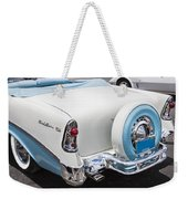 1956 Chevrolet Bel Air Convertible Weekender Tote Bag