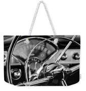 1956 Chevrolet Belair Steering Wheel Weekender Tote Bag