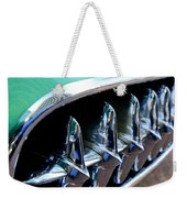 1957 Chevrolet Corvette Grille Weekender Tote Bag