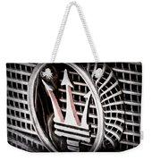 1957 Maserati Grille Emblem Weekender Tote Bag