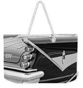 1959 Desoto Adventurer Convertible Tail Light Emblem Weekender Tote Bag
