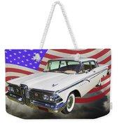 1959 Edsel Ford Ranger Weekender Tote Bag