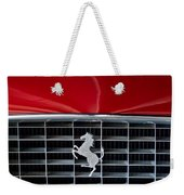 1960 Ferrari 250 Gt Swb Berlinetta Competizione Grille Emblem Weekender Tote Bag