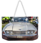 1960 Ford Starliner Weekender Tote Bag