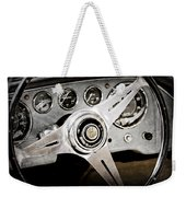 1960 Maserati Steering Wheel Emblem Weekender Tote Bag