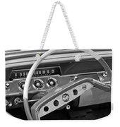1961 Chevrolet Impala Ss Steering Wheel Emblem Weekender Tote Bag