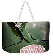 1965 Divco Milk Truck Hood Ornament Weekender Tote Bag