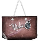 1965 Rambler Marlin Emblem Weekender Tote Bag