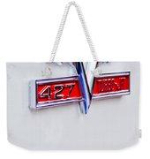 1966 Chevrolet Biscayne Emblem Weekender Tote Bag