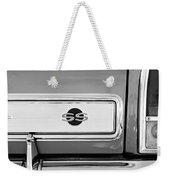 1966 Chevrolet II Ss L79 Taillight Emblem Weekender Tote Bag