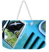 1966 Ferrari 275 Gtb Steering Wheel Emblem Weekender Tote Bag