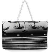 1966 Ford Galaxie 500 Convertible Grille Emblem - Hood Ornament Weekender Tote Bag