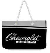 1967 Chevrolet Camaro Emblem Weekender Tote Bag