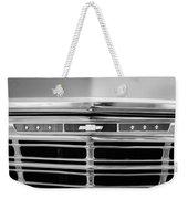 1967 Chevrolet Chevelle Malibu Grille Emblem Weekender Tote Bag