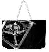 1967 Ferrari 275 Gtb 4 Steering Wheel Emblem Weekender Tote Bag by Jill Reger