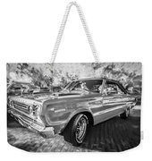 1967 Plymouth Belvedere Gtx 440 Painted Bw Weekender Tote Bag