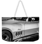 1969 Chevrolet Corvette 427  Bw Weekender Tote Bag