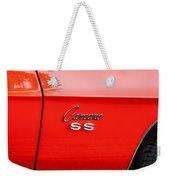1969 Chevy Camaro Ss 396 Painted Weekender Tote Bag