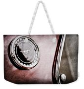 1969 Ford Mustang Mach 1 Side Emblem Weekender Tote Bag