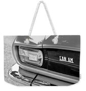 1971 Iso Grifo Can Am Taillight Emblem Weekender Tote Bag