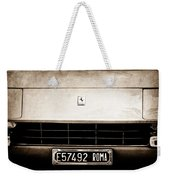 1972 Ferrari 365 Gtb -4a Grille Emblem Weekender Tote Bag
