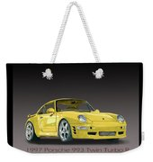 1997 Porsche  993 Twin Turbo Weekender Tote Bag