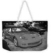 2010 Chevrolet Corvette Grand Sport Bw  Weekender Tote Bag