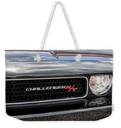 2011 Dodge Challenger Rt Black Weekender Tote Bag