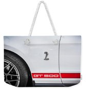 2012 Ford Shelby Mustang Gt500 Painted  Weekender Tote Bag