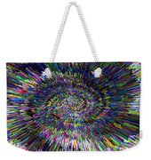 3 D Dimensional Art Abstract Weekender Tote Bag