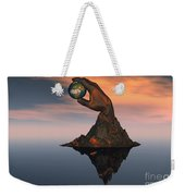 A 3d Conceptual Image Of The World Weekender Tote Bag