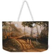 A Country Lane Weekender Tote Bag
